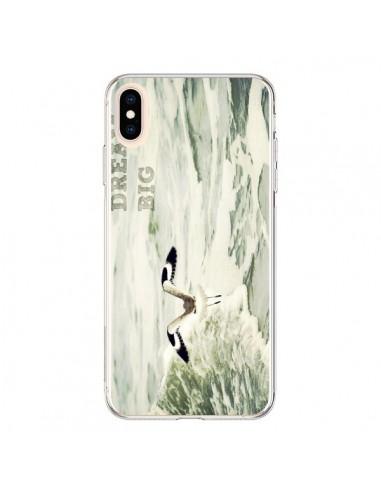 Coque iPhone XS Max Dream Big Mouette Mer - R Delean