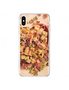 Coque iPhone XS Max Pates Coeur Love Amour - R Delean
