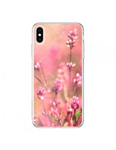 Coque iPhone XS Max Fleurs Bourgeons Roses - R Delean
