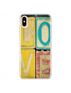 Coque iPhone XS Max Love Amour Jeu - R Delean