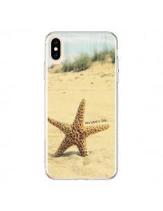Coque iPhone XS Max Etoile de Mer Plage Beach Summer Ete - R Delean