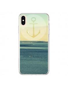 Coque iPhone XS Max Ancre Navire Bateau Summer Beach Plage - R Delean