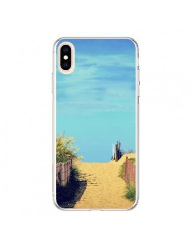 Coque iPhone XS Max Plage Beach Sand Sable - R Delean