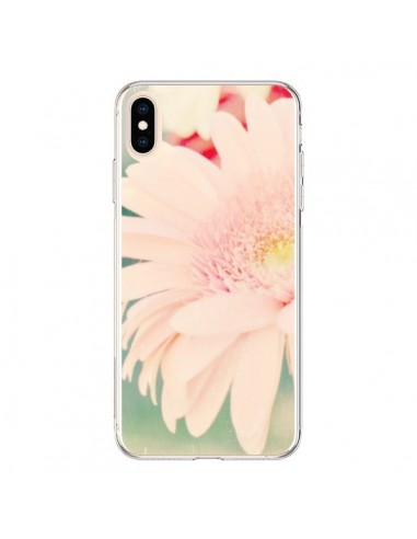 Coque iPhone XS Max Fleurs Roses magnifique - R Delean