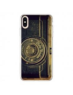 Coque iPhone XS Max Appareil Photo Vintage Vieux - R Delean