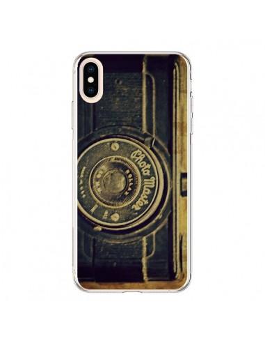 coque iphone xs max appareil photo vintage vieux r delean