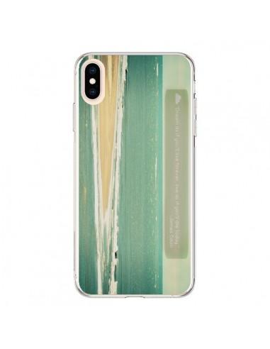 Coque iPhone XS Max Dream Mer Plage Ocean Sable Paysage - R Delean
