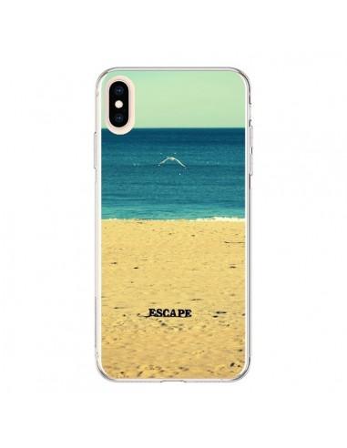 Coque iPhone XS Max Escape Mer Plage Ocean Sable Paysage - R Delean