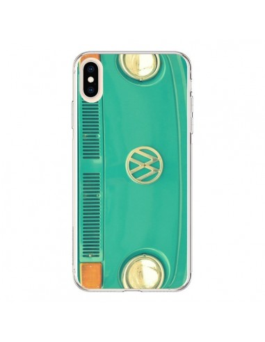 Coque iPhone XS Max Groovy Van Hippie VW - R Delean