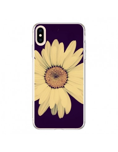 Coque iPhone XS Max Marguerite Fleur Flower - R Delean