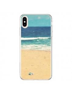 Coque iPhone XS Max Mer Ocean Sable Plage Paysage - R Delean