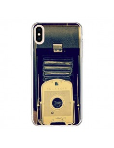 Coque iPhone XS Max Appareil Photo Vintage Polaroid Boite - R Delean
