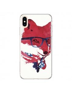 Coque iPhone XS Max American Fox - Robert Farkas