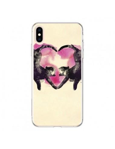 Coque iPhone XS Max Cats love to sleep - Robert Farkas