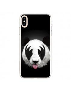 Coque iPhone XS Max Kiss of a Panda - Robert Farkas