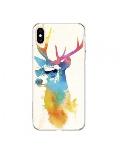 Coque iPhone XS Max Sunny Stag - Robert Farkas