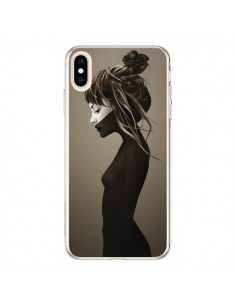Coque iPhone XS Max Fille Pensive - Ruben Ireland