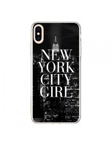Coque iPhone XS Max New York City Girl - Rex Lambo