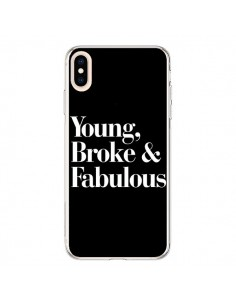 Coque iPhone XS Max Young, Broke and Fabulous - Rex Lambo