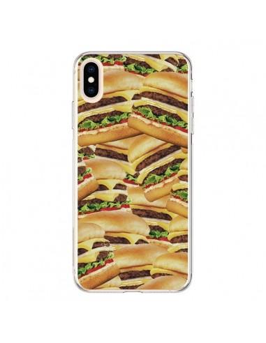 Coque iPhone XS Max Burger Hamburger Cheeseburger - Rex Lambo