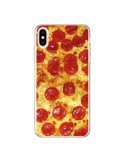 Coque iPhone XS Max Pizza Pepperoni - Rex Lambo