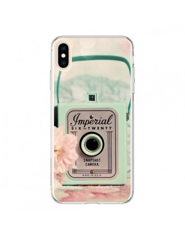 Coque iPhone XS Max Appareil Photo Imperial Vintage - Sylvia Cook
