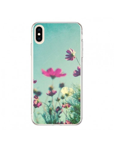 Coque iPhone XS Max Fleurs Reach for the Sky - Sylvia Cook