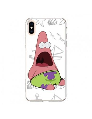 Coque iPhone XS Max Patrick Etoile de Mer Bob l'Eponge - Sara Eshak