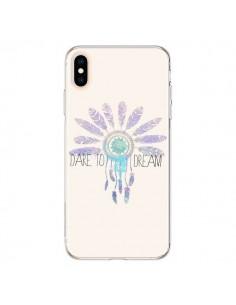 Coque iPhone XS Max Dare To Dream Osez Rêver - Sara Eshak