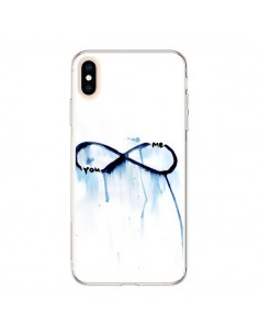Coque iPhone XS Max Forever You and Me Love - Sara Eshak