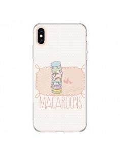 Coque iPhone XS Max Macaron Gateau - Sara Eshak