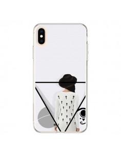 Coque iPhone XS Max Confusion Femme Oeil Triangle - Sara Eshak