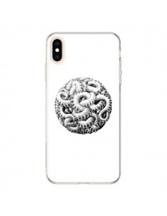 Coque iPhone XS Max Boule Tentacule Octopus Poulpe - Senor Octopus