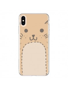 Coque iPhone XS Max Big Cat chat - Santiago Taberna