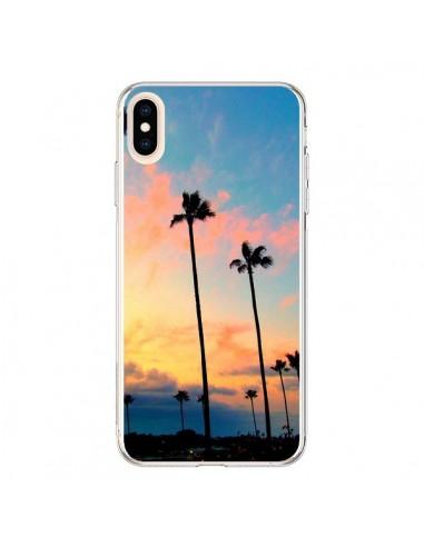 Coque iPhone XS Max California Californie USA Palmiers - Tara Yarte