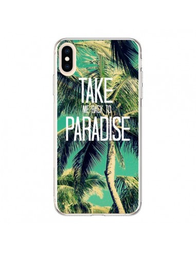 coque iphone xs palmier