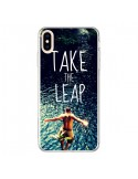 Coque iPhone XS Max Take the leap Saut - Tara Yarte