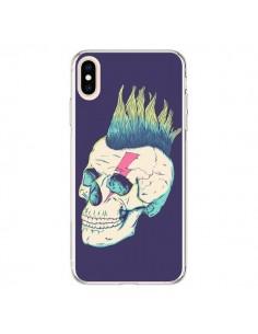 Coque iPhone XS Max Tête de mort Punk - Victor Vercesi