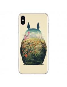 Coque iPhone XS Max Totoro Manga - Victor Vercesi
