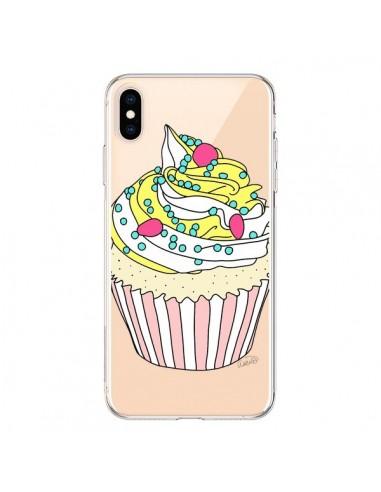 Coque iPhone XS Max Cupcake Dessert Transparente souple - Asano Yamazaki