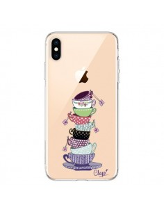 Coque iPhone XS Max Tasses de The Transparente souple - Chapo