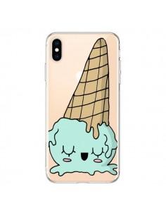 Coque iPhone XS Max Ice Cream Glace Summer Ete Renverse Transparente souple - Claudia Ramos