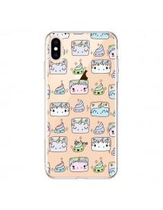 Coque iPhone XS Max Licorne Unicorn Cute Swag Transparente souple - Claudia Ramos