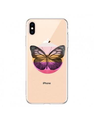 coque iphone xs papillon