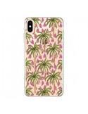 Coque iPhone XS Max Palmier Palmtree Transparente souple - Dricia Do