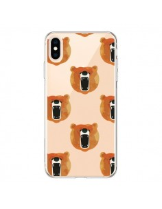 Coque iPhone XS Max Ours Ourson Bear Transparente souple - Dricia Do