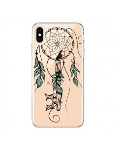 Coque iPhone XS Max Attrape Rêves Clefs Transparente souple - LouJah