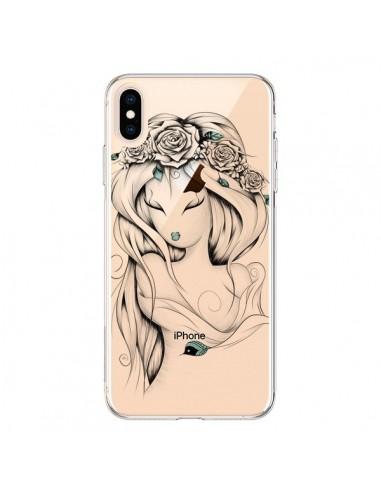 Coque iPhone XS Max Princesse Poétique Gypsy Transparente souple - LouJah