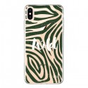 Coque iPhone XS Max Wild Zebre Jungle Transparente souple - Lolo Santo