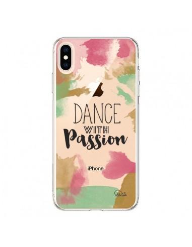 Coque iPhone XS Max Dance With Passion Transparente souple - Lolo Santo
